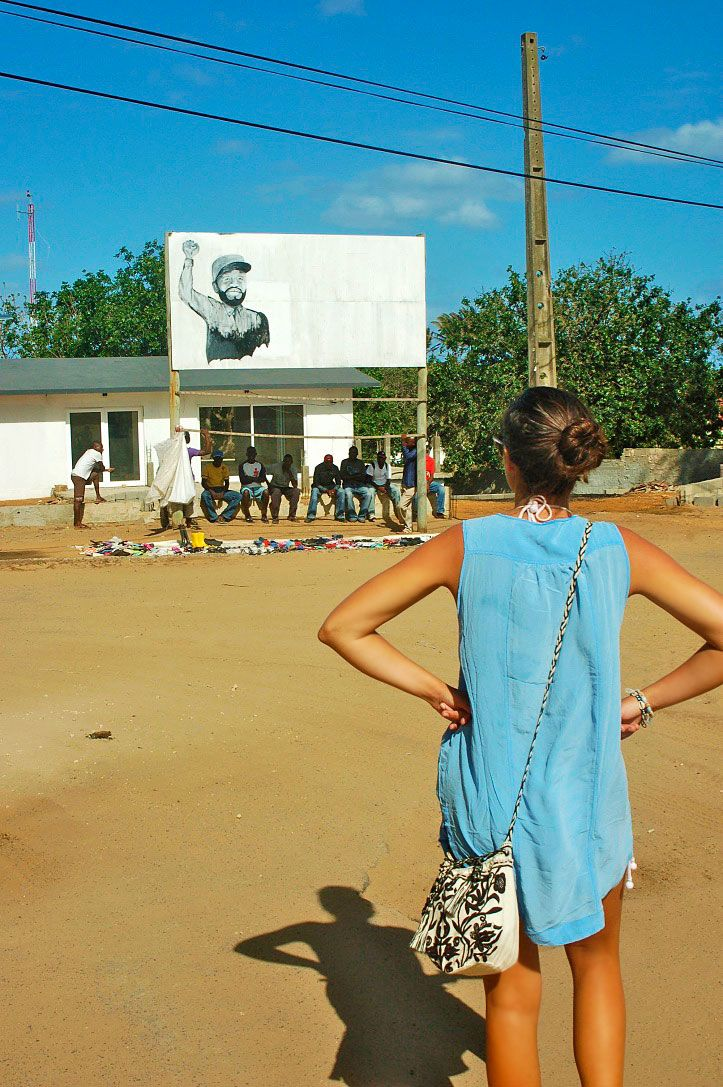 ponta do ouro streets village mozambique