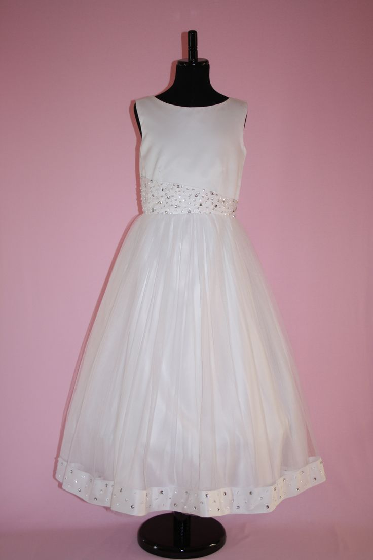 First Communion/Flower Girl Dresses from Silk n Satin Communion Dresses. $75 https://silknsatincommuniondresses.com.au/product/lucy/