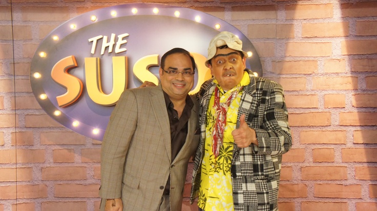 El caballero de la Salsa, Gilberto Santa Rosa en The Suso's Show
