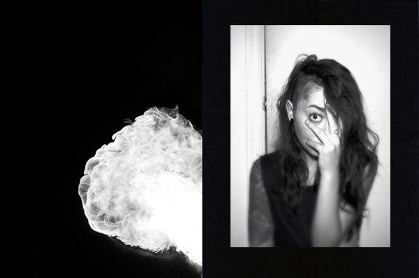 #portrait #canon #conception #graphisme #montage #girl #cigarette