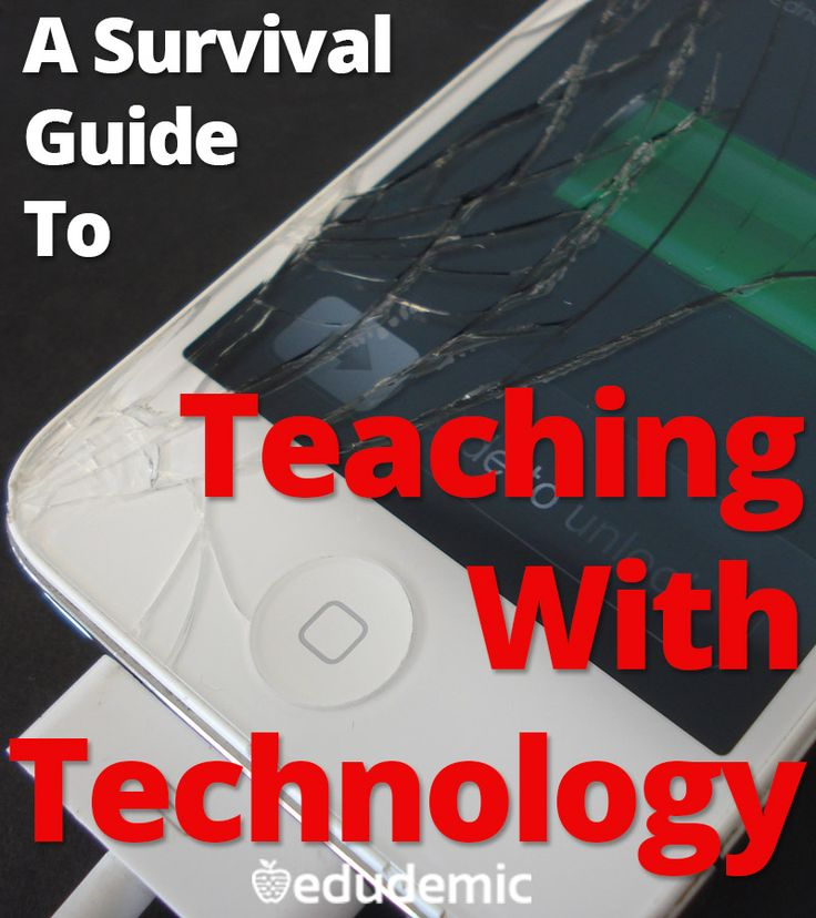 A survival guide to teaching with technology