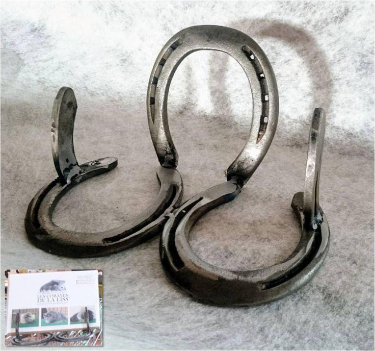 présentoir en fers à cheval