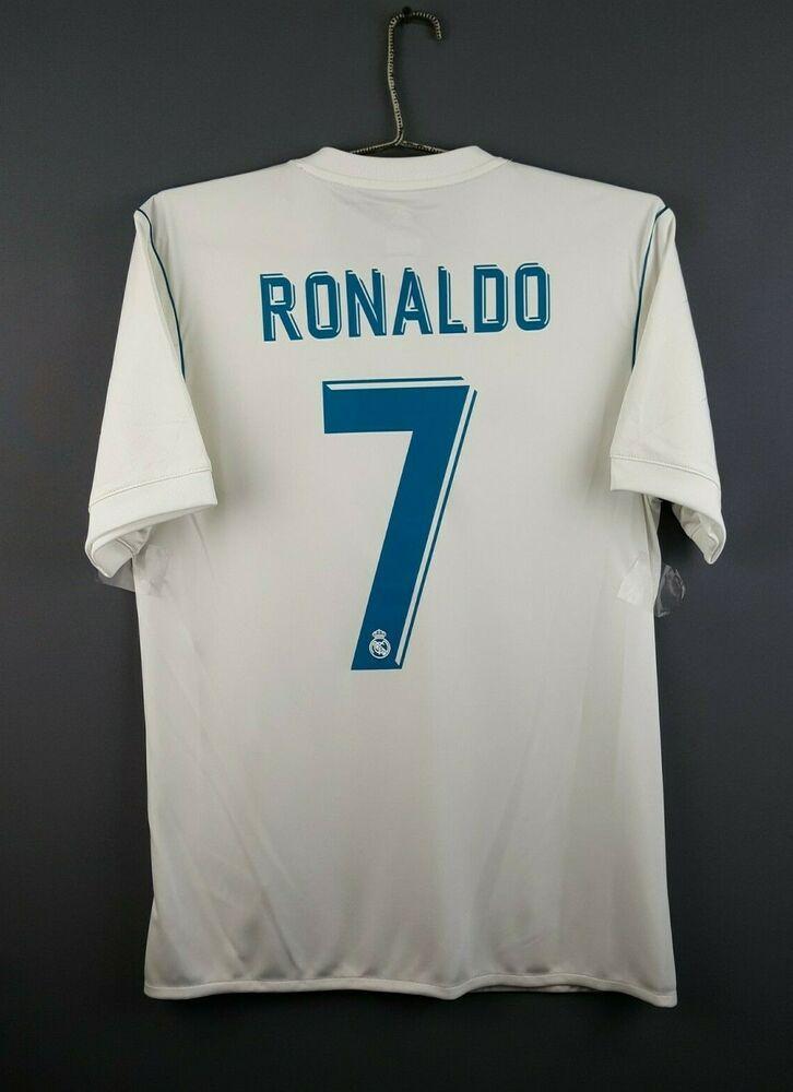 the best attitude f83a5 146d2 Advertisement(eBay) 4.8/5 Ronaldo Real Madrid jersey S 2018 ...