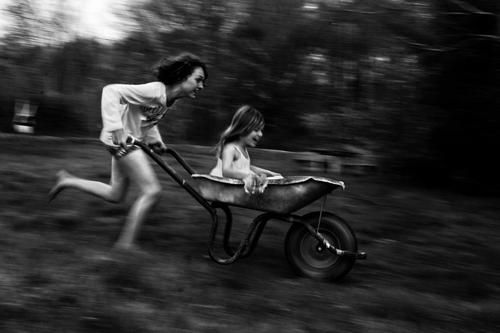 "© Alain Laboile ""Untitled"" from the series ""La Famille,"" digital pigment print. http://www.laboile.com/"