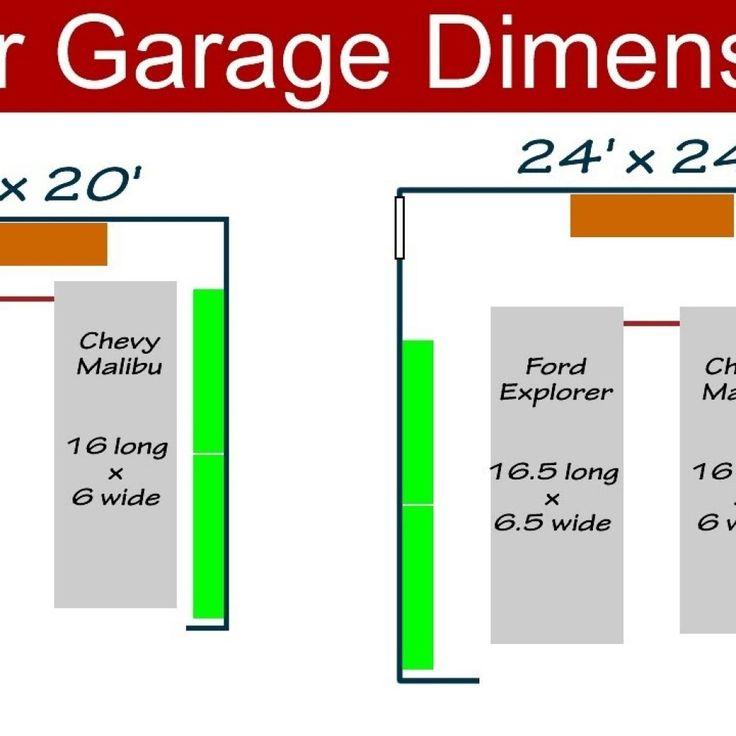 2 Car Garage Door Sizes Standard