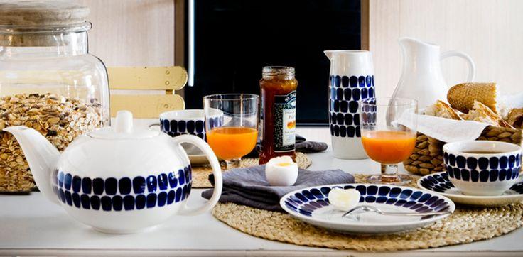7つのARABIAで作る北欧スタイルの朝ごはんテーブルコーディネート