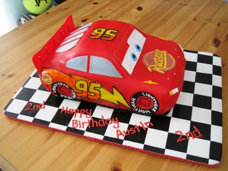74 mejores imu00e1genes sobre Lightning McQueen Car Cake en Pinterest : Pastel en forma de camiu00f3n ...
