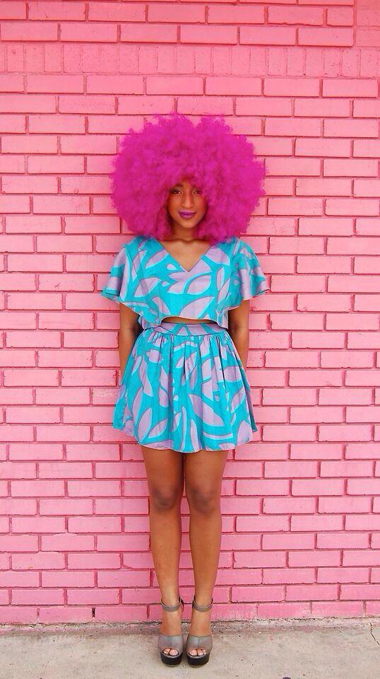 Cabelo afro, tranças, black power e crespos coloridos | Estilo