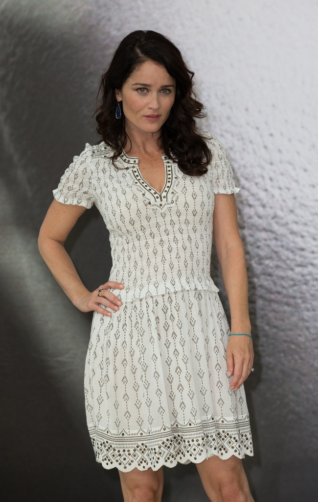 Robin Tunney - The Mentalist photocall in Monte Carlo