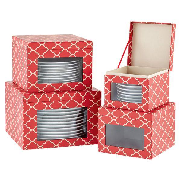 Holiday Dinnerware Storage Cases Holiday dinnerware, Dinnerware