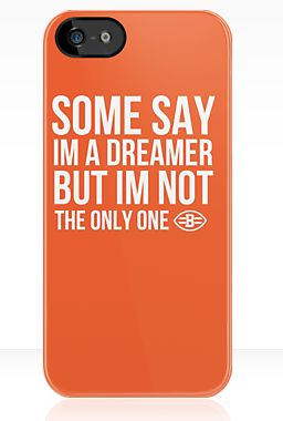 Made by a true clevelander. Cleveland Browns phone case now available @ http://www.redbubble.com/people/emilybeal/works/11350078-browns-dreamer
