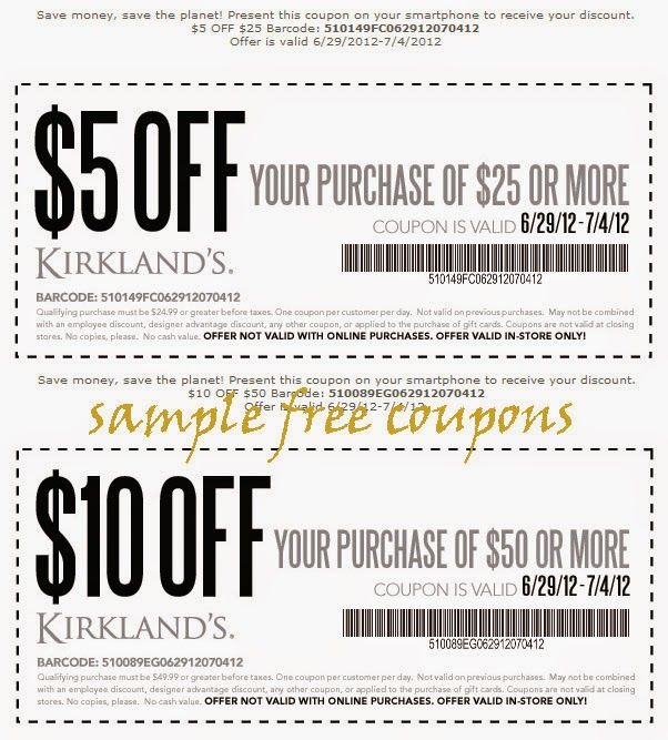 Printable Coupons  Kirklands Coupons. 17 Best images about printable coupons on Pinterest   Boston