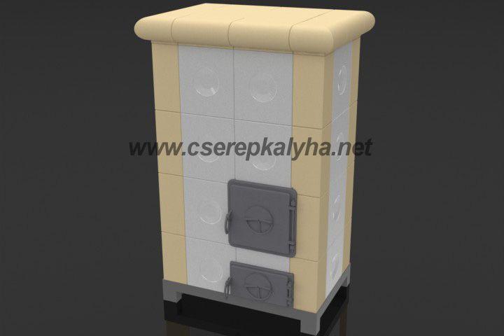 Hordozható cserépkályha, transportable Kachelöfen, Ceramic tiled stove