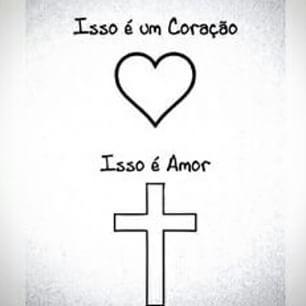 A maior prova do verdadeiro amor ele fez lá na cruz <3