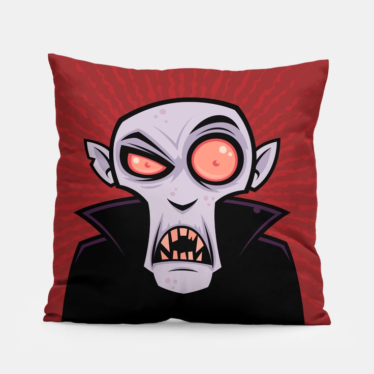 Count Dracula Pillow, Live Heroes