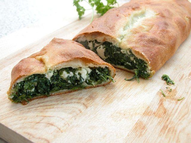Græske feta og spinattærte 2