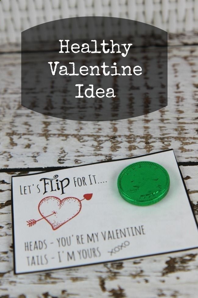 Let's Flip for It | Non-Candy Valentine Idea