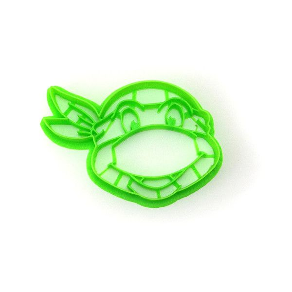 Teenage Mutant Ninja Turtles cookie cutter