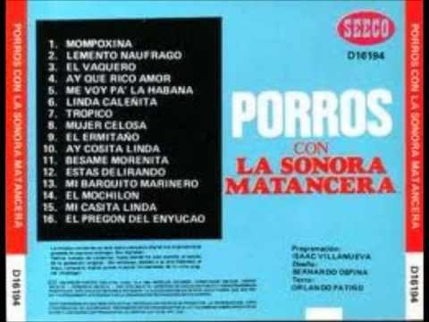 La Sonora Matancera - Porros - YouTube