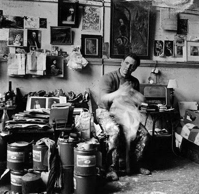 Frank Auerbach, London 1962, by Lord Snowdon | Artists at ...