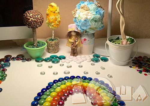 Игры с марблс. Где-то я прочитала, что пластилин признали лучшей развивающей игрушкой. Я и моя дочка Полина вполне согласны, с одной поправкой - после марблс!