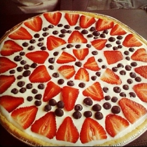 how to make a dessert pizza base