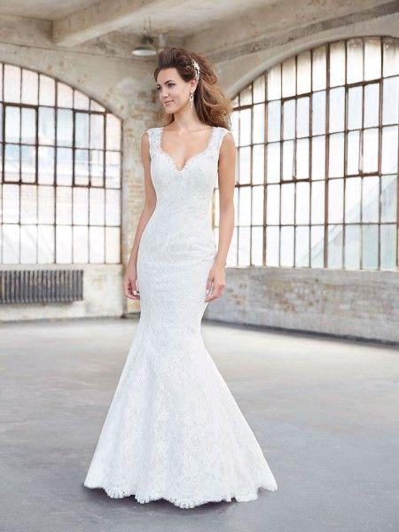 016136 | Allure Bridals Gowns | Pinterest | Lace mermaid, Mermaid ...