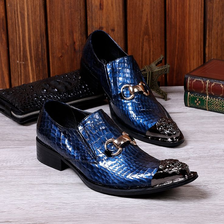 87.05$  Watch here - http://ali6oa.shopchina.info/1/go.php?t=32794111503 - Choudory 2017 Newest Wedding Shoes Men Fashion Casual Party Dress Shoes Pointed Toe Navy Blue Loafers Shoes plus size 87.05$ #magazineonline