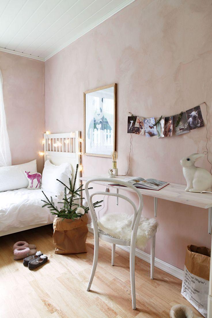 Deco pink fra Jotun i mineralmaling