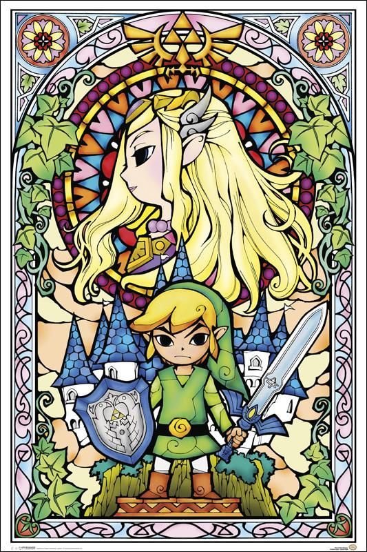 Zelda - Stained Glass