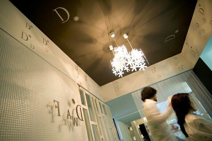 ヘアサロン。店舗デザイン;名古屋 スーパーボギー http://www.bogey.co.jp