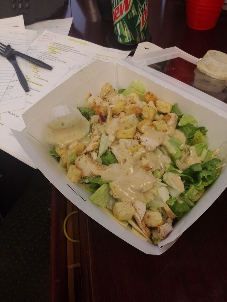 Delicious lunch from Panera Bread!