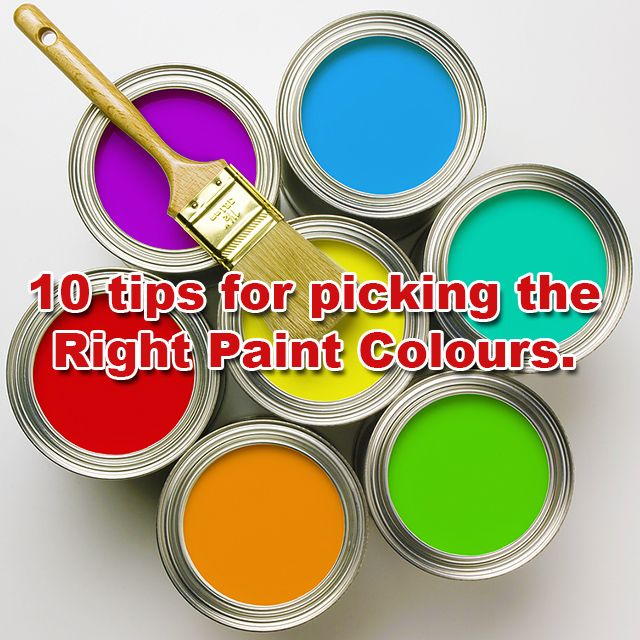 10 #tips for picking #paint colours that will not only brighten up your room, but your mood as well. Visit our website for more information, link in bio.