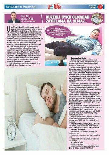 Uyku Hijyeni ve Zayıflama