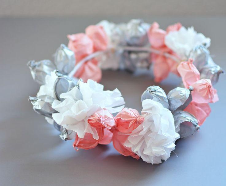 Diy Tissue Paper Flower Crown