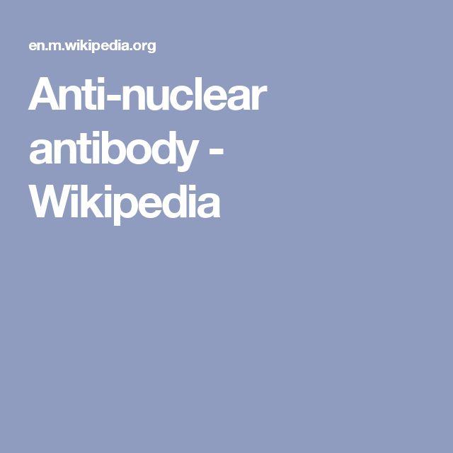 Anti-nuclear antibody - Wikipedia