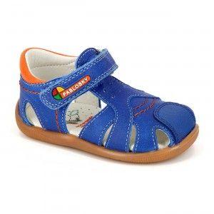 Sandalias cangrejeras azul cobalto Pablosky