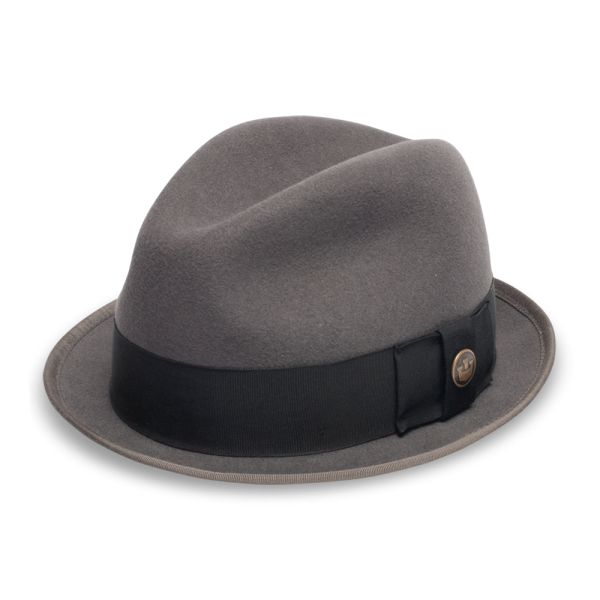 Guido Delgado Felt Fedora Hat  057e8dbf33d2