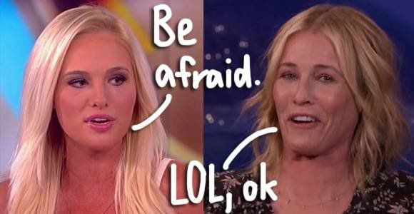 Place Your Bets! Chelsea Handler & Tomi Lahren Are Set To Face Off In A LIVE Political Debate! #Paparazzi #chelsea #debate #handler #lahren