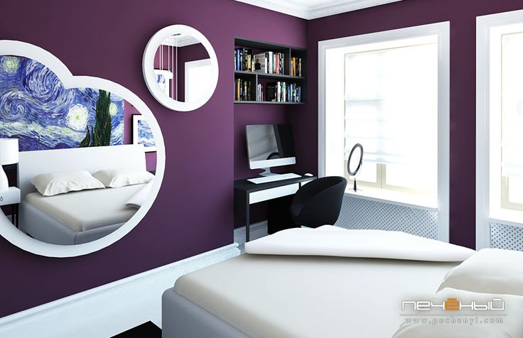 Love the wall color and pop of white!