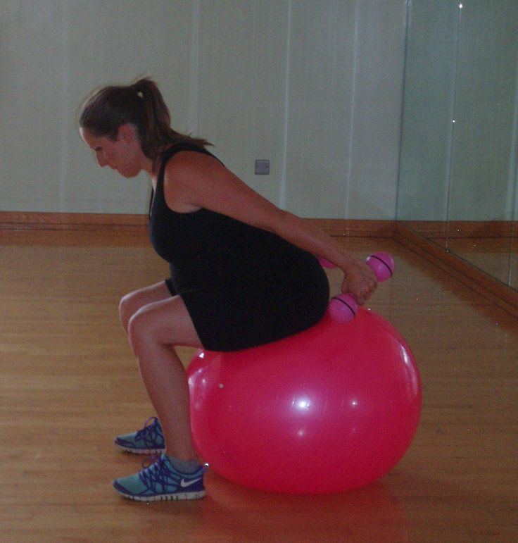 Balance Ball Exercises For Pregnancy: 17 Best Ideas About Pregnancy Arm Workouts On Pinterest