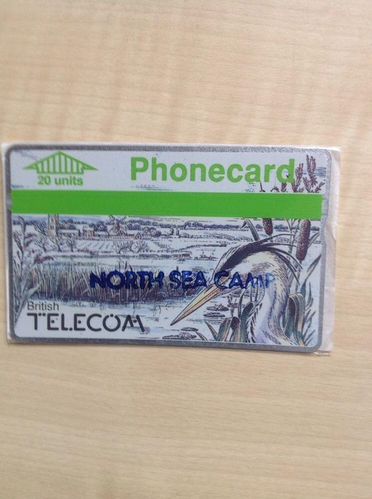 North Sea Camp BT Phonecard