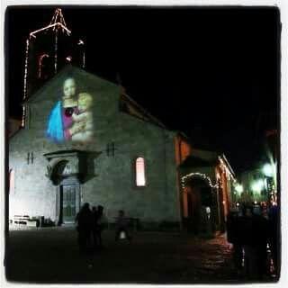 """Fiumalbo notte di Natale 2015  Foto """"La Gazzetta di Modena"""""""