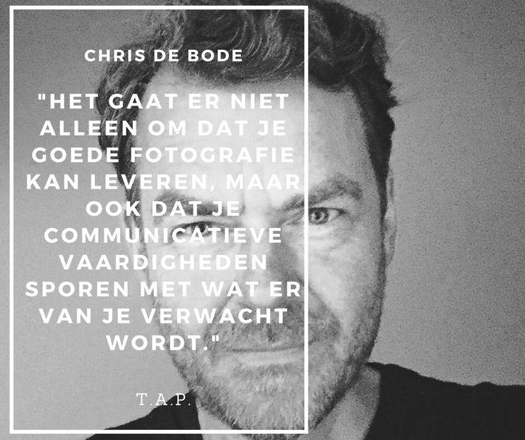 Op Talks About Photography komt fotojournalist Chris de Bode praten over de veranderde markt voor fotojournalistiek en hoe je jezelf staande houdt op die markt