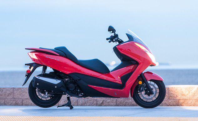 motorscycle.com  » 2015 Honda Scooter Forza Review