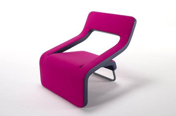 Inkline chair by Karim Rashid
