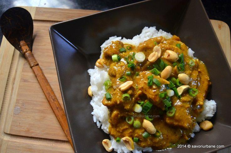 Savori Urbane   Curry de porc cu arahide si lapte de cocos   http://savoriurbane.com