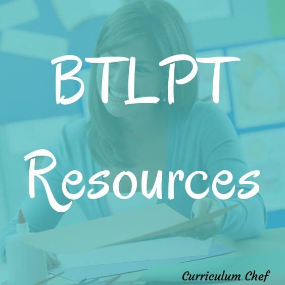 BTLPT Preparation Materials BTLPT Resources Language