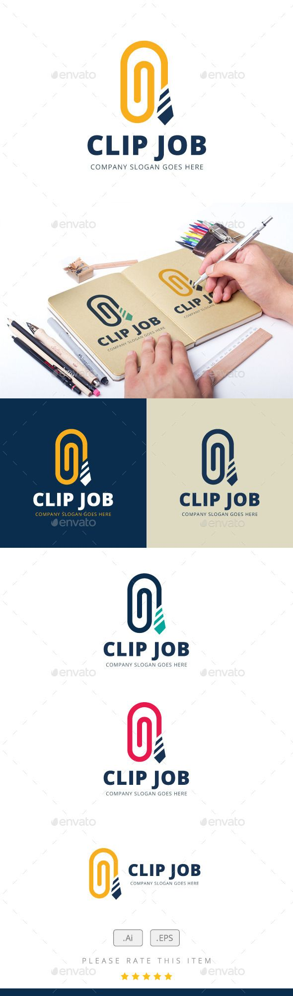 Clip Job Logo