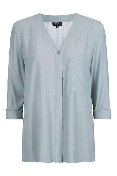 PETITE Slouchy Shirt